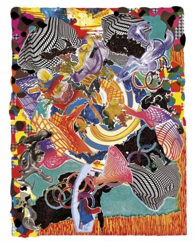 Juam 1997 by Frank Stella born 1936