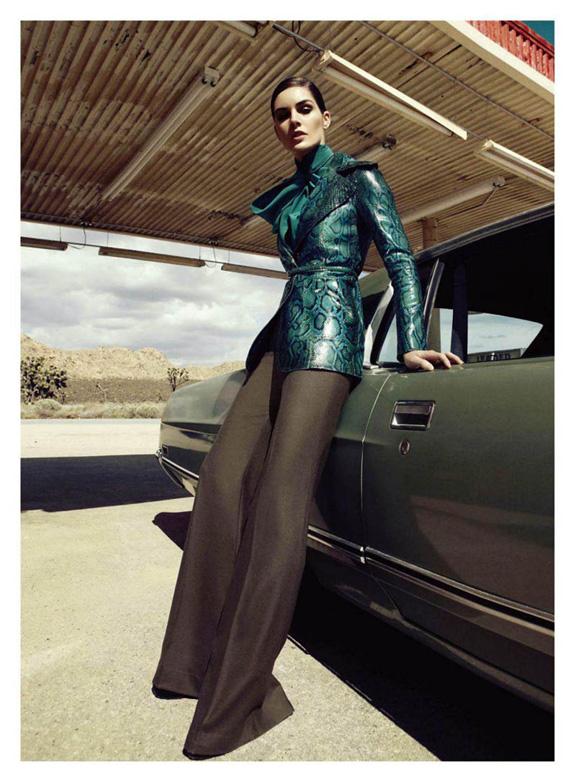 Hilary Rhoda for Harpers Bazaar