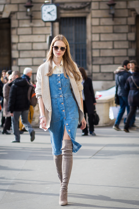 flawless-denim-dress-outfit-ideas-for-street-style-9